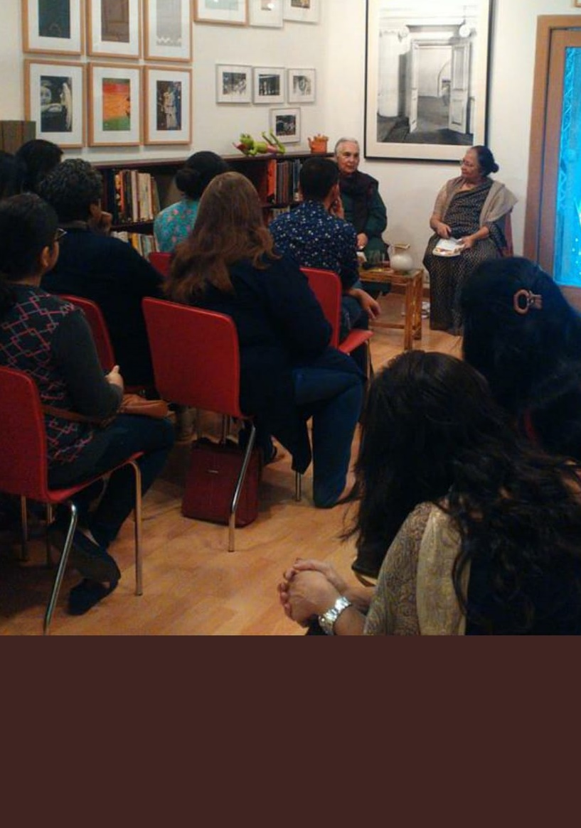 Devi Kar in conversation with historian Romila Thapar