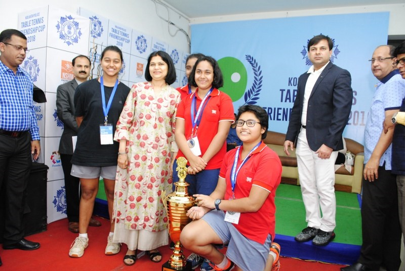 Kolkata Police Table Tennis Friendship Cup 2018