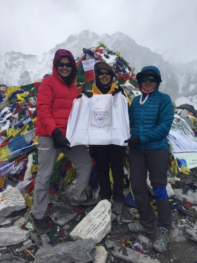 Batch of 2000 at the Everest Base Camp