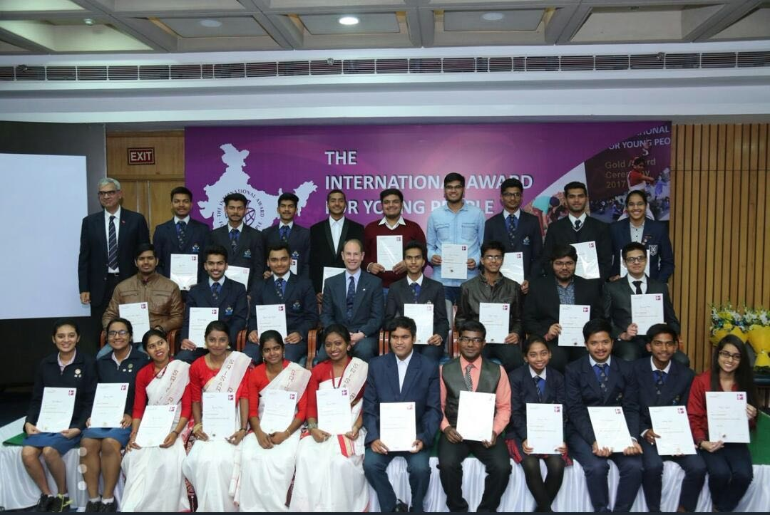 The International Award for Young People India (IAYP) - Gold Awards