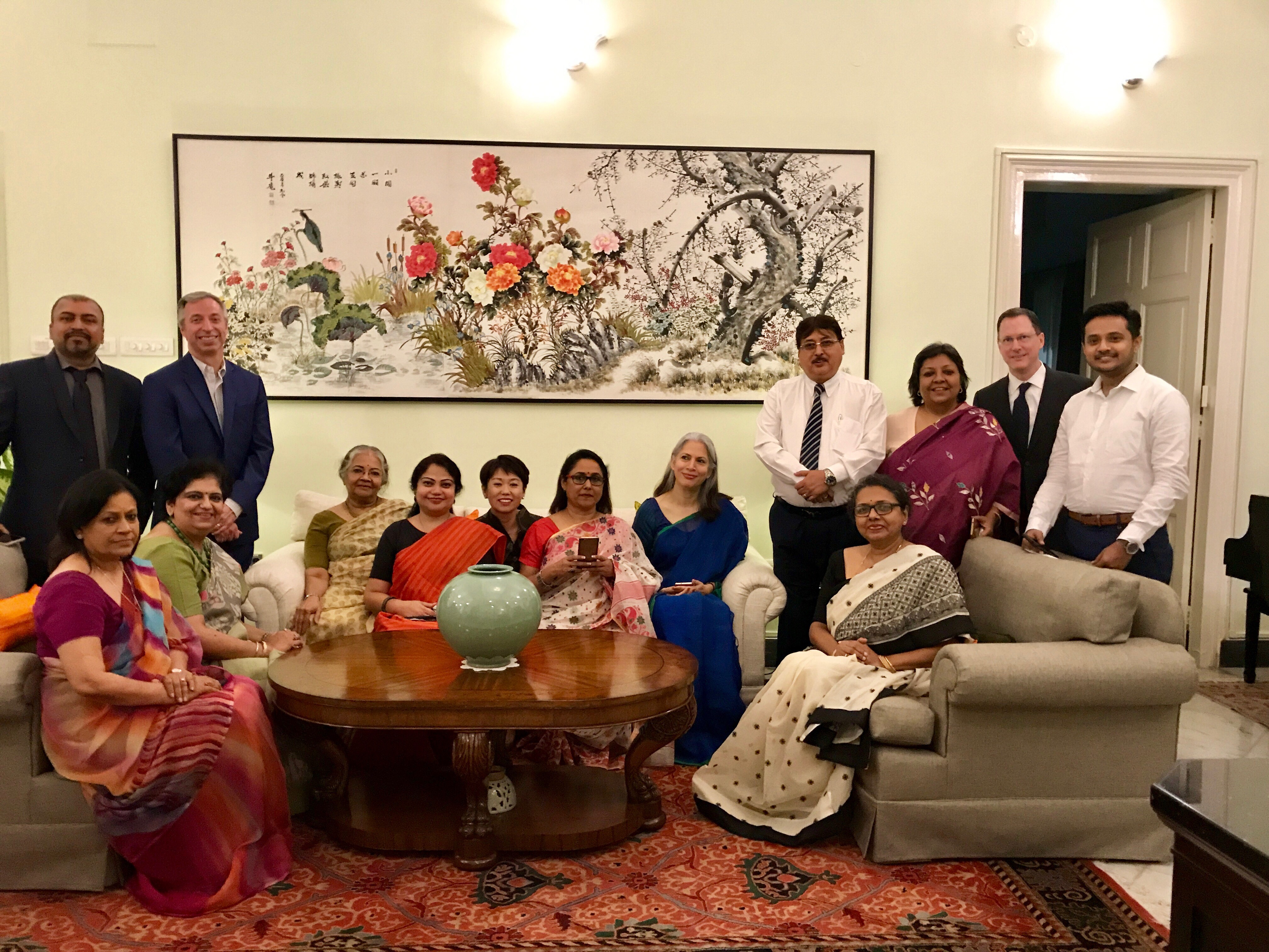 High Tea Invitation for School Principals from U.S. Consul General
