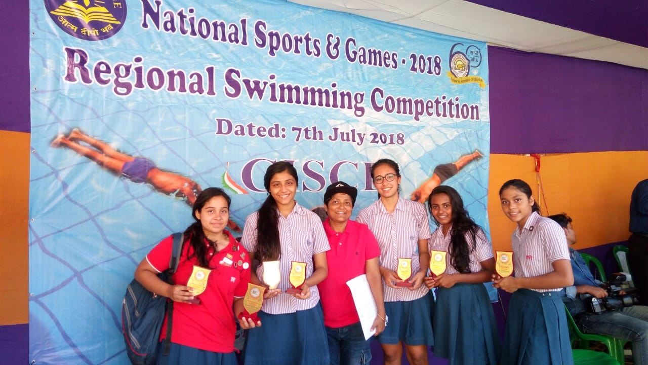 CISCE Regional Swimming Meet-2018