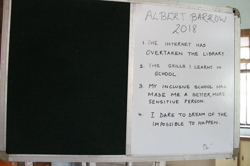 Albert Barrow Essay Writing Competition Category I