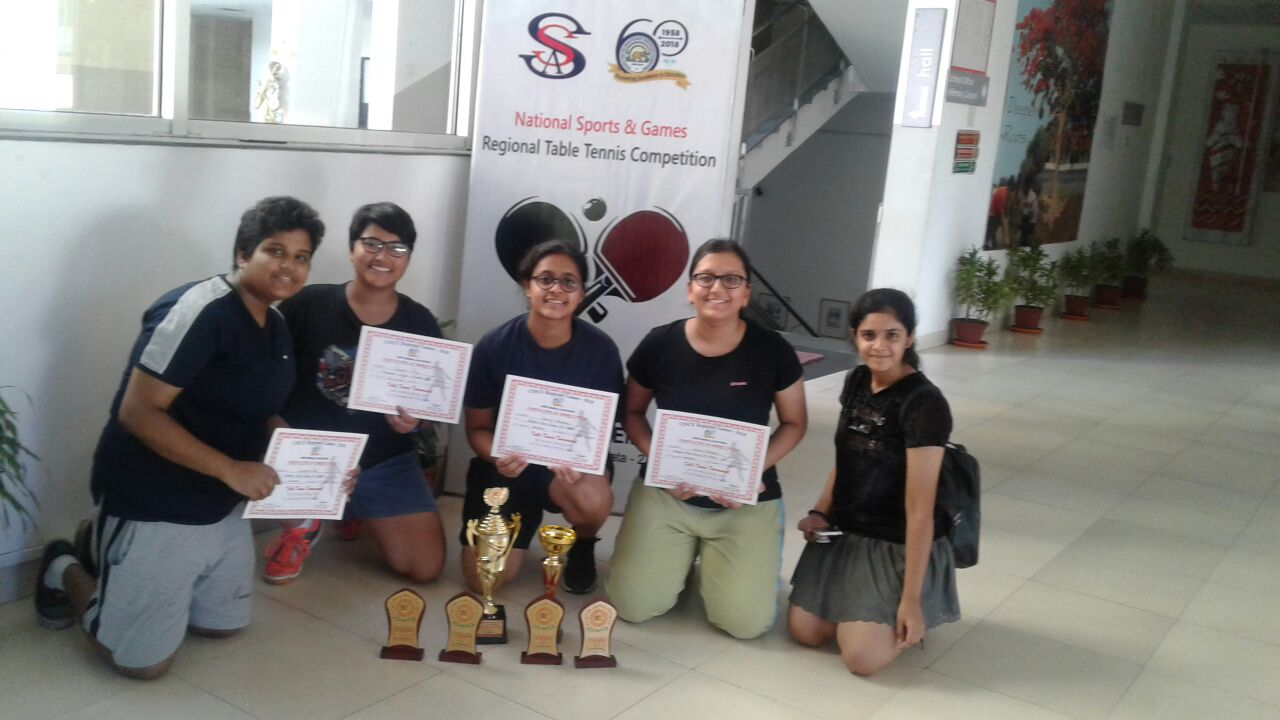 CISCE Regional Table Tennis Tournament - 2018
