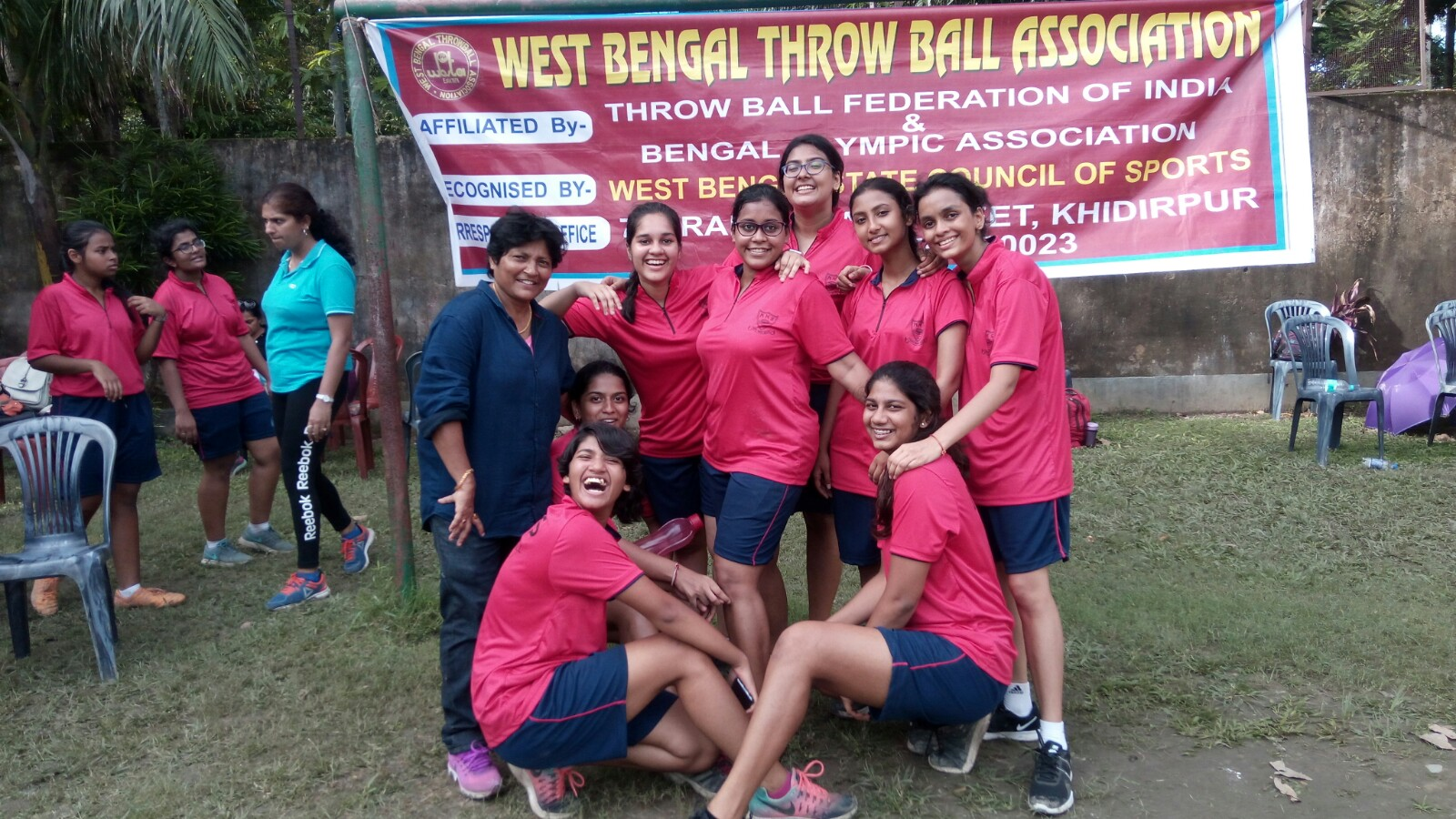 Inter School Throwball Competition