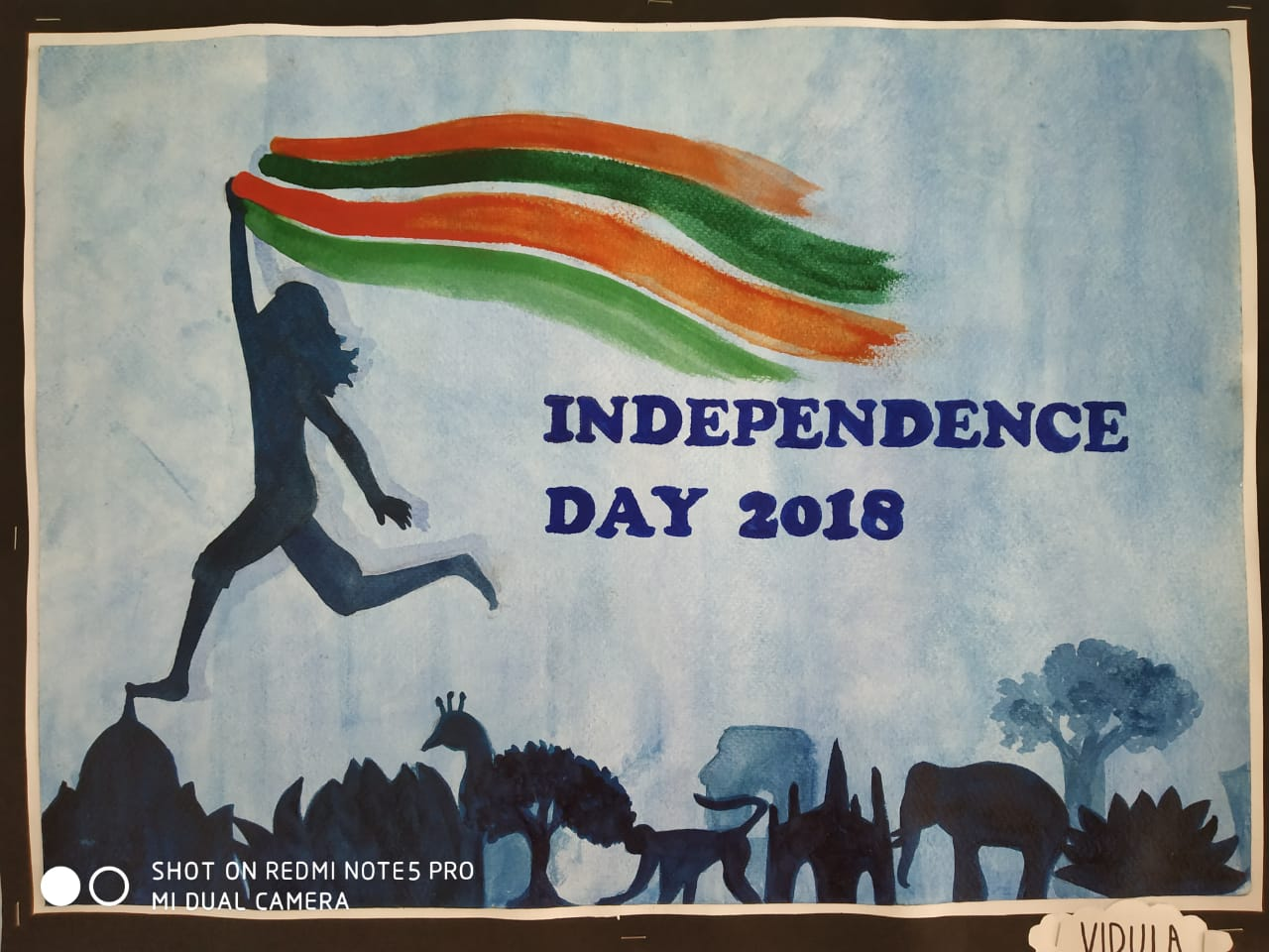 Art Work for Independence Day