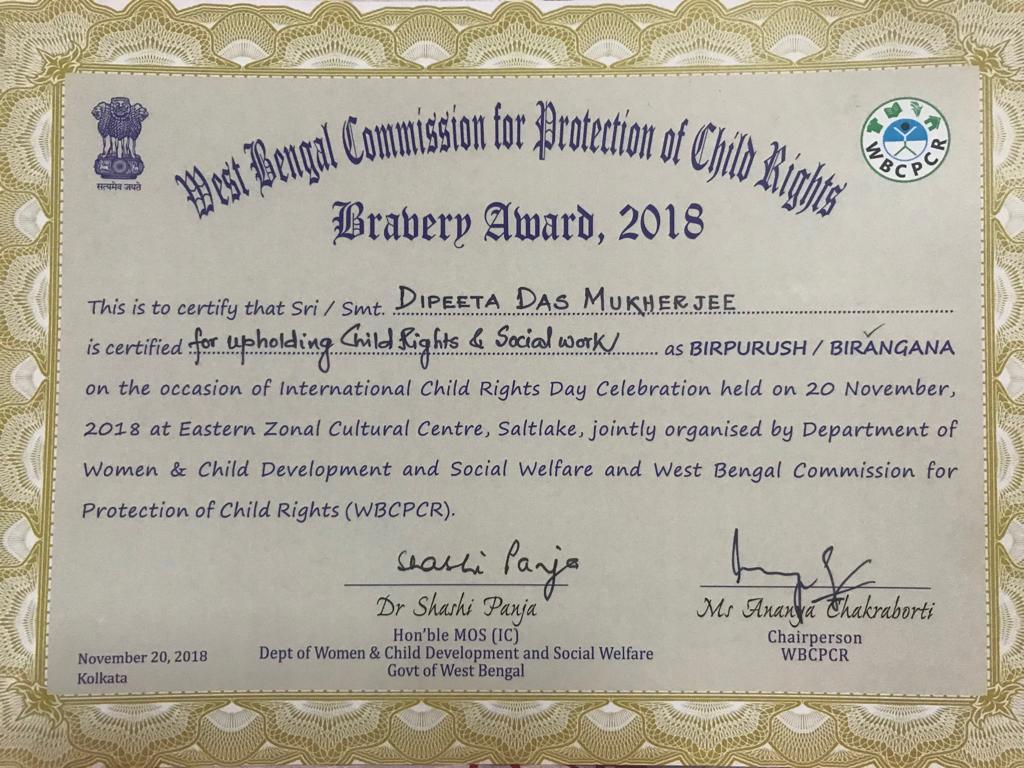 Birangana (Bravery) Award