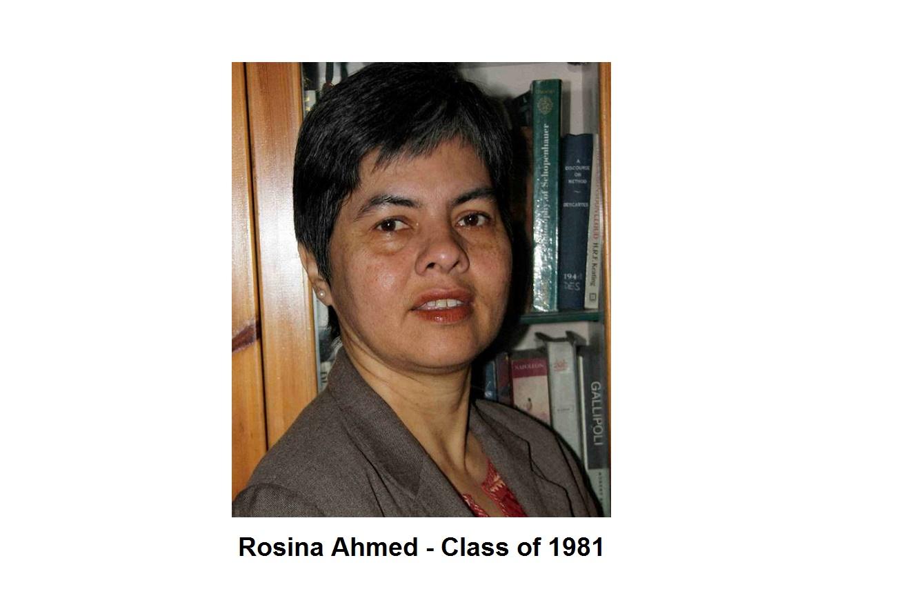 Rosina Ahmed