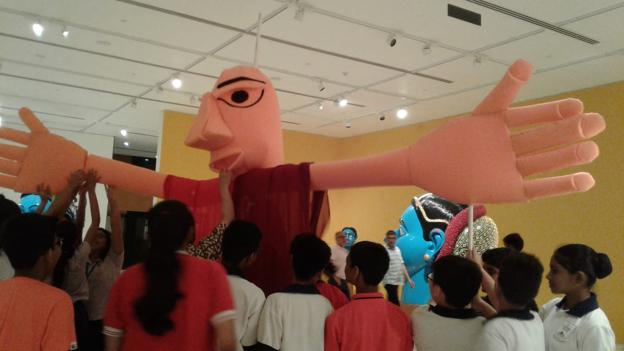 Giant Puppet & Collaborative Art Workshop