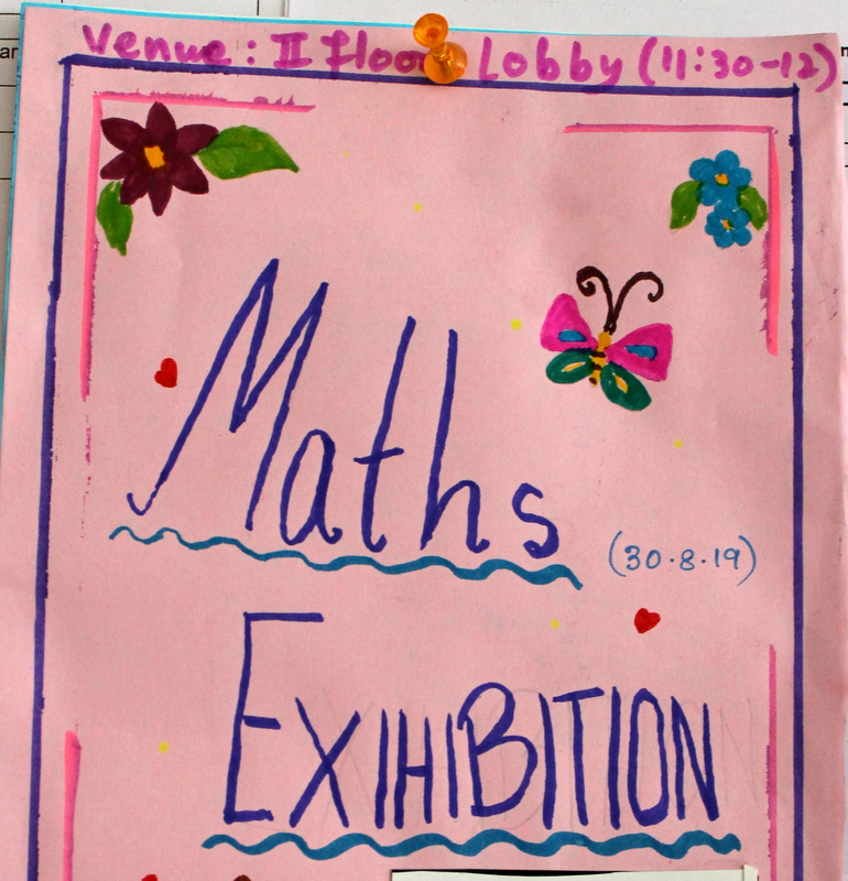 Maths Exhibition by Class VI