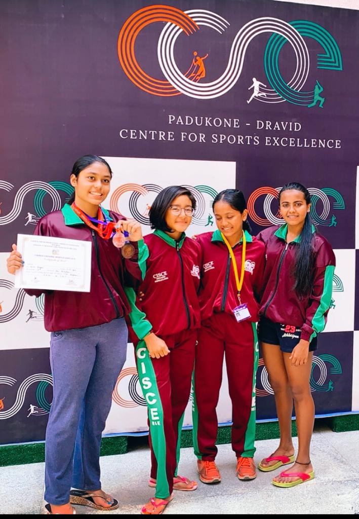 CISCE National School Games held at Bangalore - Swimming Meet