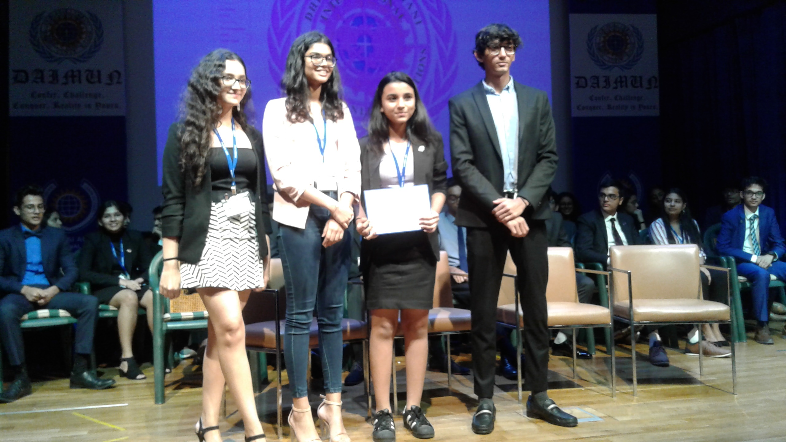 Dhirubhai Ambani International School Model United Nations