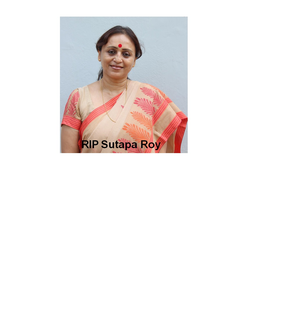 Memorial Service for Ms. Sutapa Roy