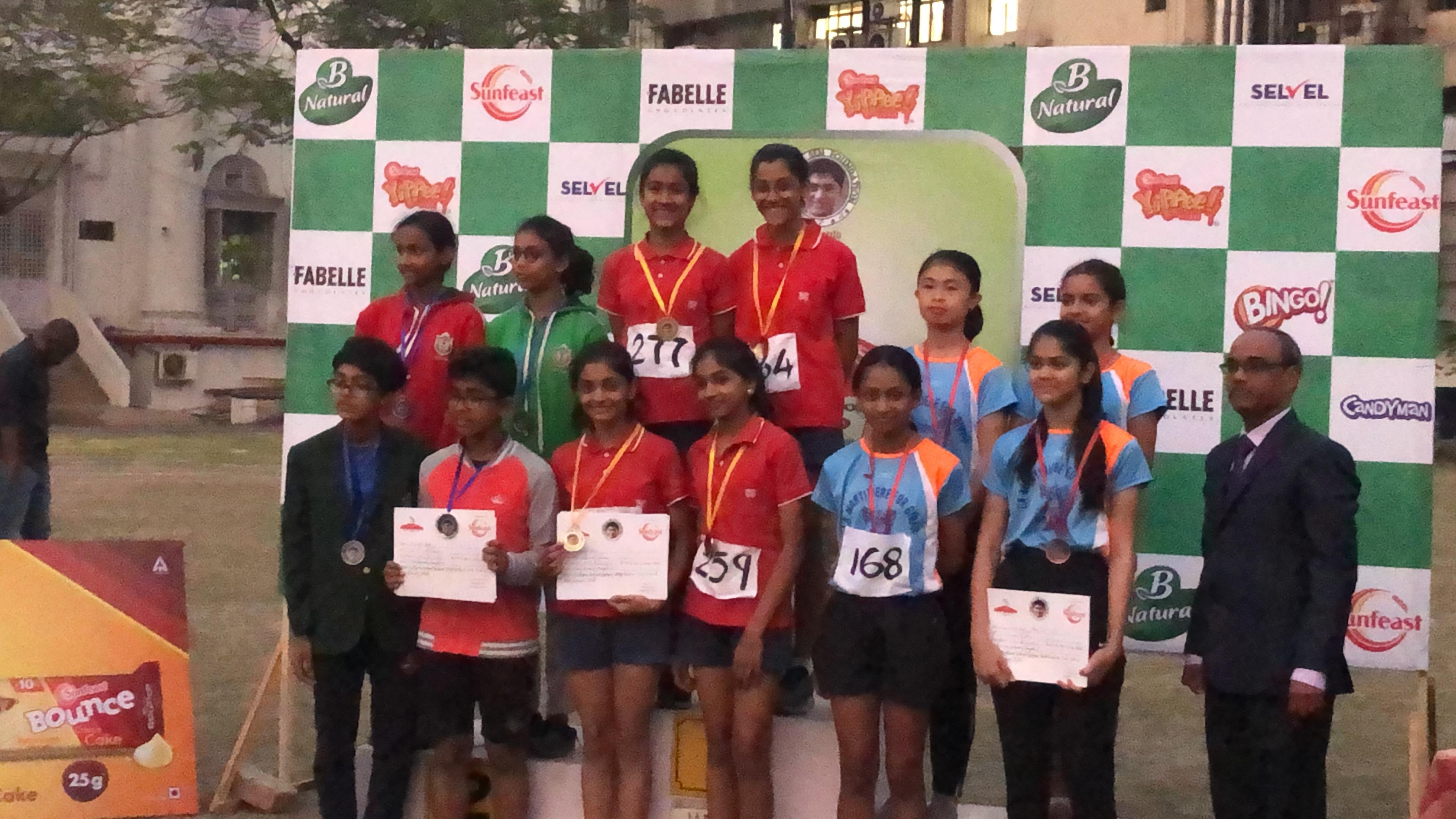 Debanjan Sen Foundation - Inter school Athletic Meet