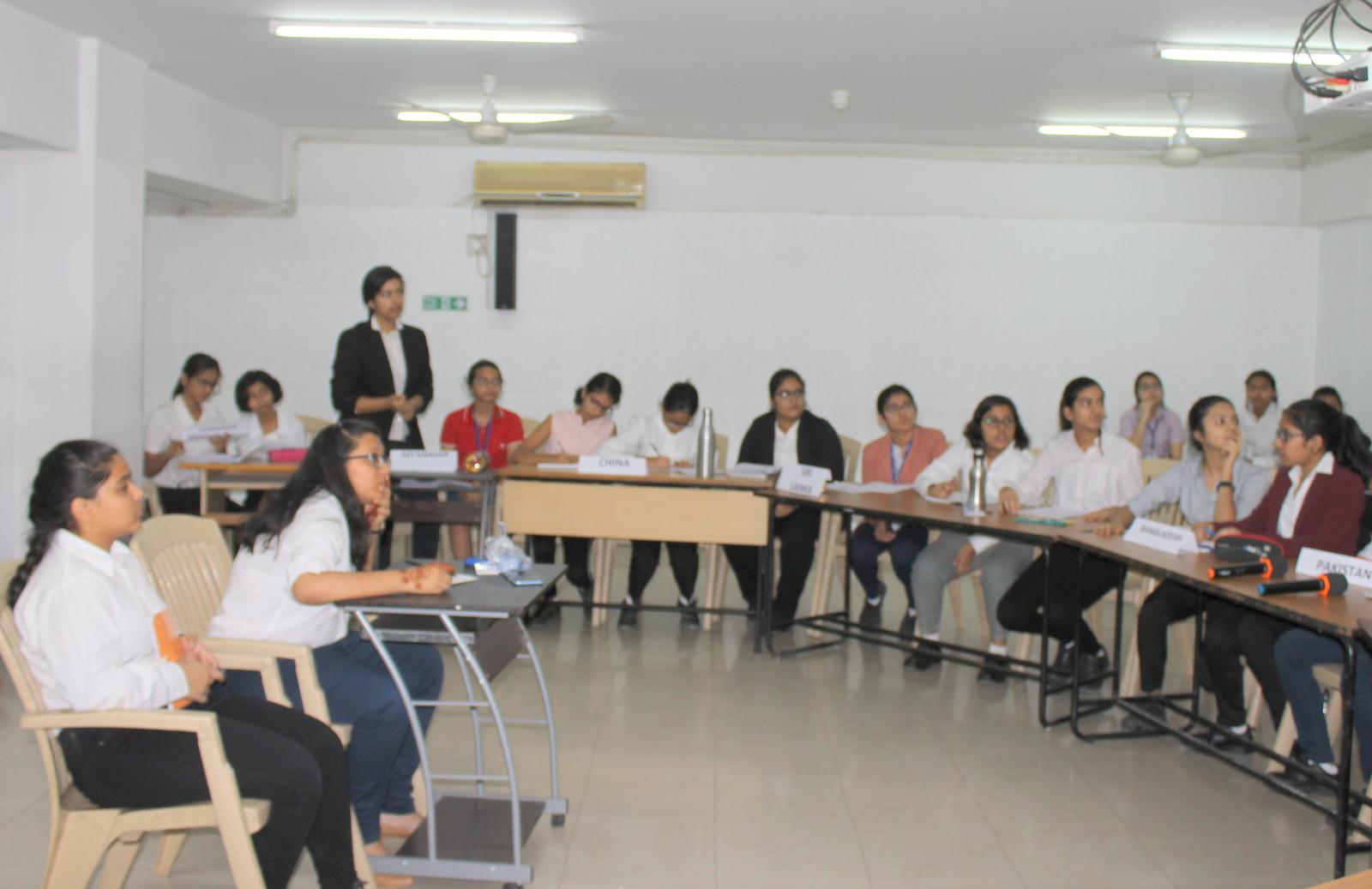 INTRA CLASS MUN - Class VIII