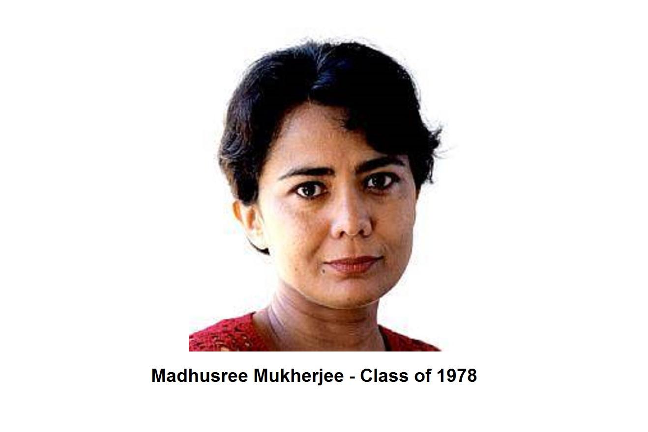 Madhusree Mukherjee